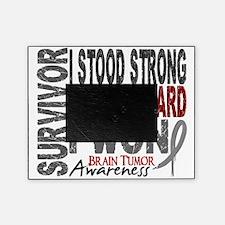 D Survivor 4 Brain Tumor Picture Frame