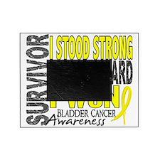 D Survivor 4 Bladder Cancer Picture Frame