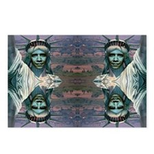 Obama Liberty–Mirror effe Postcards (Package of 8)