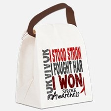 D Survivor 4 Stroke Canvas Lunch Bag