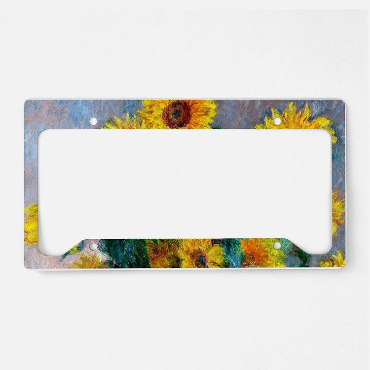 Bag Monet Sunf License Plate Holder