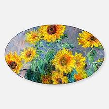 Bag Monet Sunf Sticker (Oval)