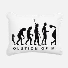 Evolution Diskuswerfen B Rectangular Canvas Pillow