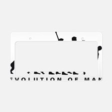 Evolution Diskuswerfen B License Plate Holder
