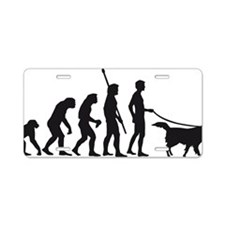 Evolution DOG Aluminum License Plate