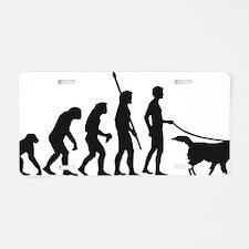Evolution DOG Aluminum License Plate