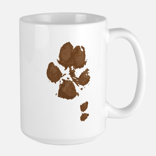 Muddy double dew print Travel Mugs