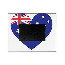 Australian Heart Picture Frame
