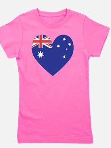 Australian Heart Girl's Tee