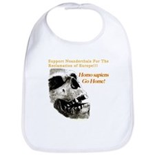 Neanderthals For The Reclamation Of Europe Bib
