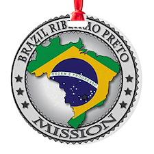 Brazil Ribeirao Preto LDS Mission F Ornament