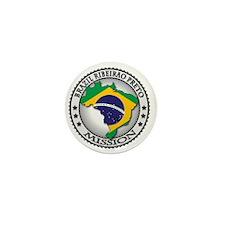 Brazil Ribeirao Preto LDS Mission Flag Mini Button