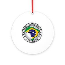 Brazil Sao Paulo North LDS Mission  Round Ornament