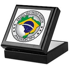 Brazil Sao Paulo North LDS Mission Fl Keepsake Box