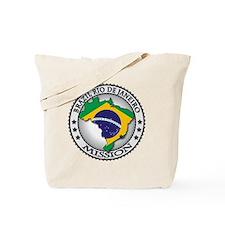 Brazil Rio De Janeiro LDS Mission Flag Cu Tote Bag