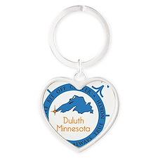 TrueNorth_Cap Heart Keychain
