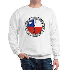 Chile Santiago West LDS Mission Flag Cu Sweatshirt