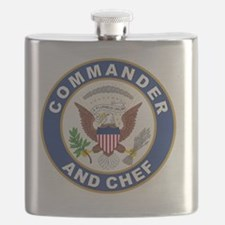 commander and chef Flask
