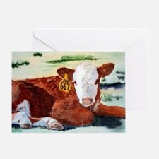 calfnote Greeting Card