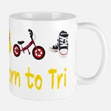 Born_to_Tri_wht Mug