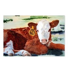 puzzcalf Postcards (Package of 8)