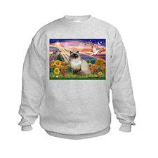 Autumn Angel Himalayan Sweatshirt