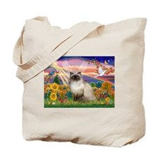 Autumn Angel Himalayan Tote Bag