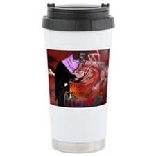 THE-COST-OF-GREED-LAPTOP Travel Mug
