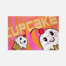 LAPTOP-cupcake Rectangle Magnet