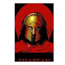 Spartan Postcards (Package of 8)