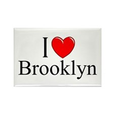 """I Love Brooklyn"" Rectangle Magnet"