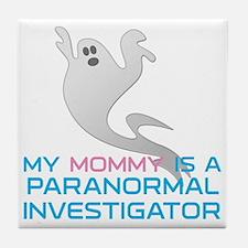 kids_mommy_shirt Tile Coaster