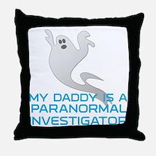 kids_daddy_shirt Throw Pillow
