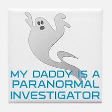 kids_daddy_shirt Tile Coaster