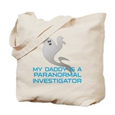 kids_daddy_shirt Tote Bag