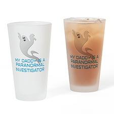 kids_daddy_shirt Drinking Glass