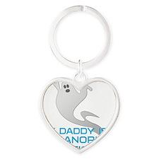 kids_daddy_shirt Heart Keychain