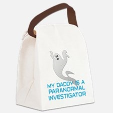 kids_daddy_shirt Canvas Lunch Bag
