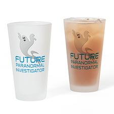 kids_future_shirt Drinking Glass
