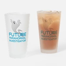 kids_future_shirt Drinking Glass