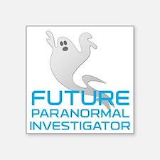 "kids_future_shirt Square Sticker 3"" x 3"""