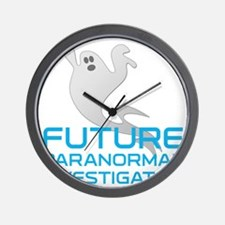 kids_future_shirt Wall Clock