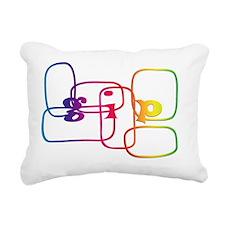 gip4 Rectangular Canvas Pillow