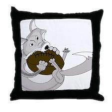 silve fox.gif Throw Pillow