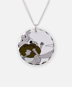 silve fox.gif Necklace