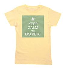 SQ KEEP CALM GREEN Girl's Tee
