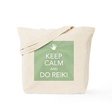 SQ KEEP CALM GREEN Tote Bag