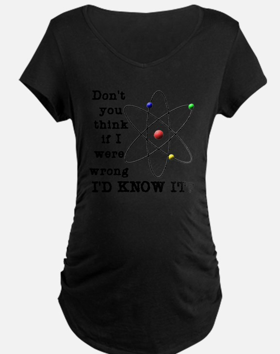 dont_you_think_black_letter T-Shirt