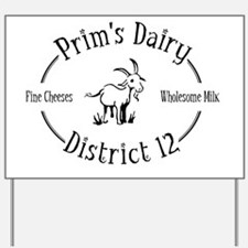 prim dairy Yard Sign