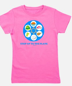 Step UpTO Plate 4 flat Girl's Tee